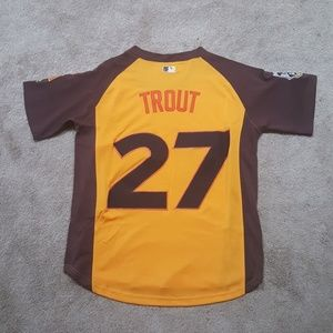 1f2bf6a97a9c5 Other - Mike Trout Angels All Star Game Jersey NEW Mens